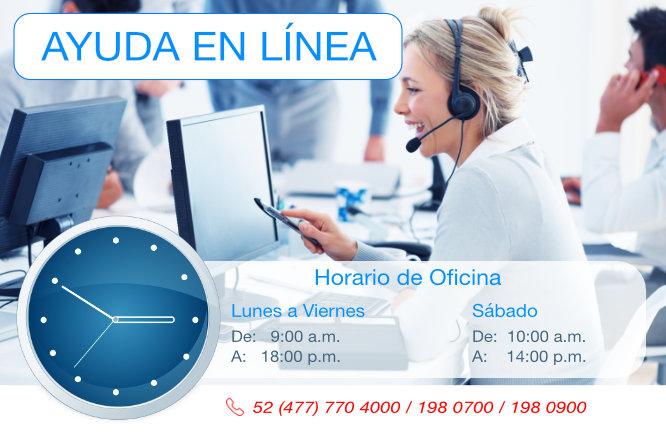 Horarios de ayuda en línea -Interlab-
